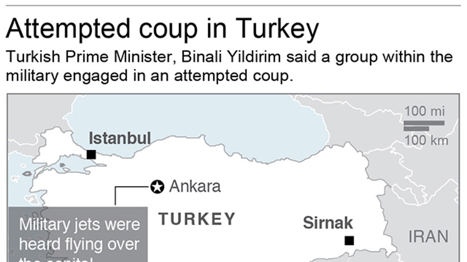 TURKEY ATTEMPTED COUP
