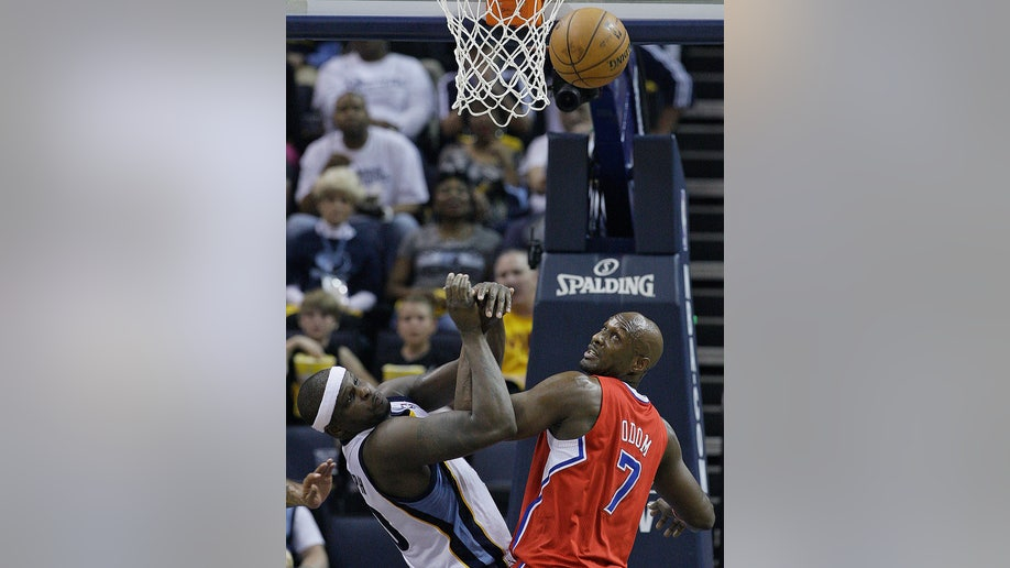 5bc3d26b-Clippers Grizzlies Basketball
