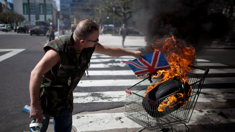Argentina Falklands Protest