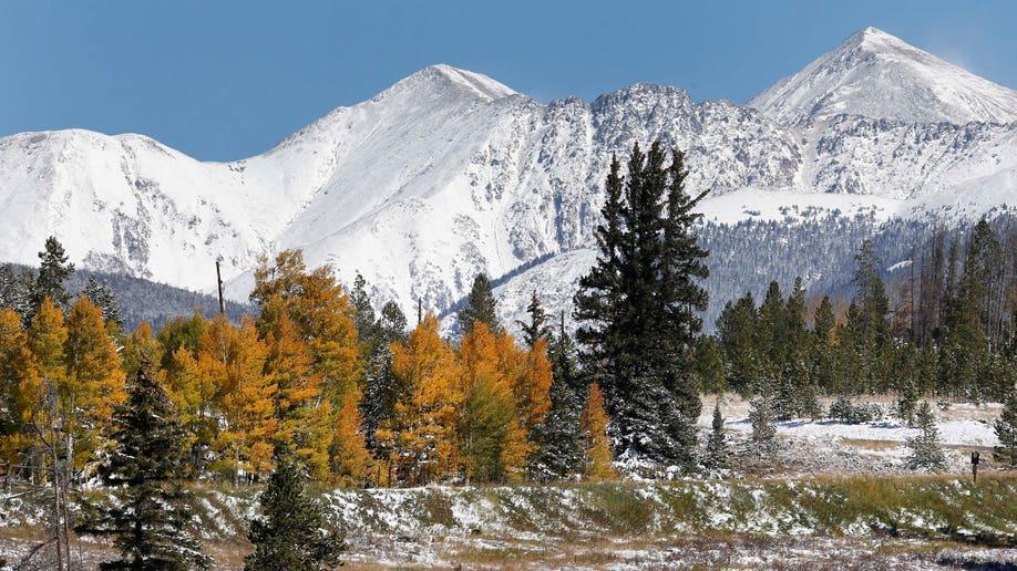 Denver Broncos Mountains