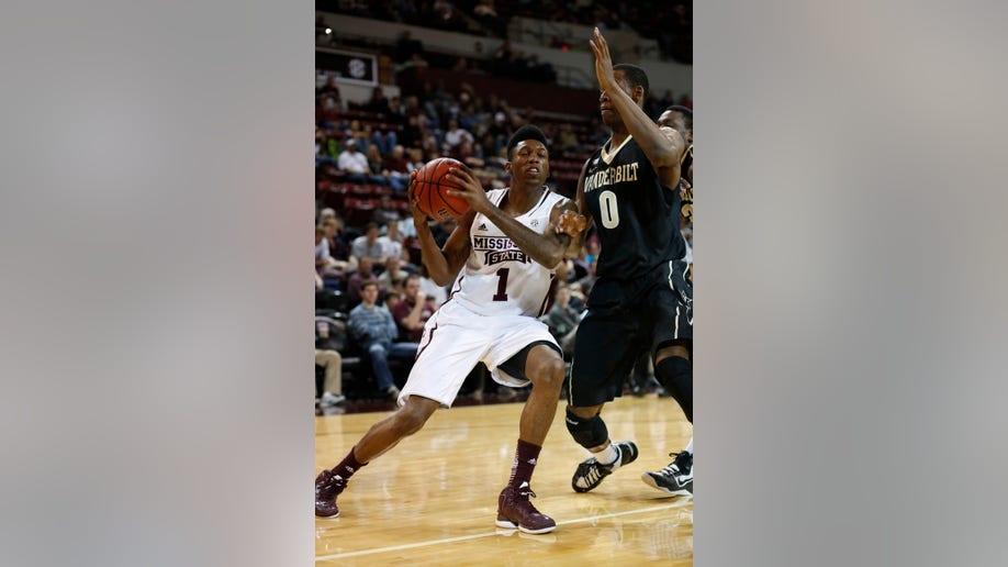Vanderbilt Mississippi St Basketball