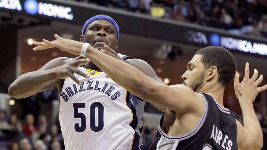 78b13017-Spurs Grizzlies Basketball