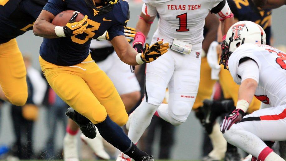 Texas Tech West Virginia Football