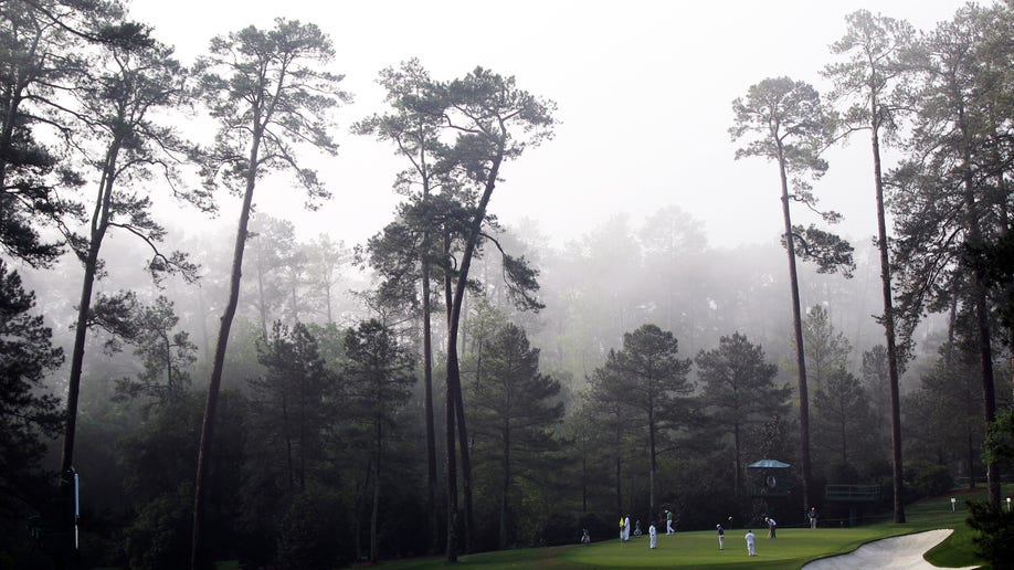 Masters Tough 10th Golf