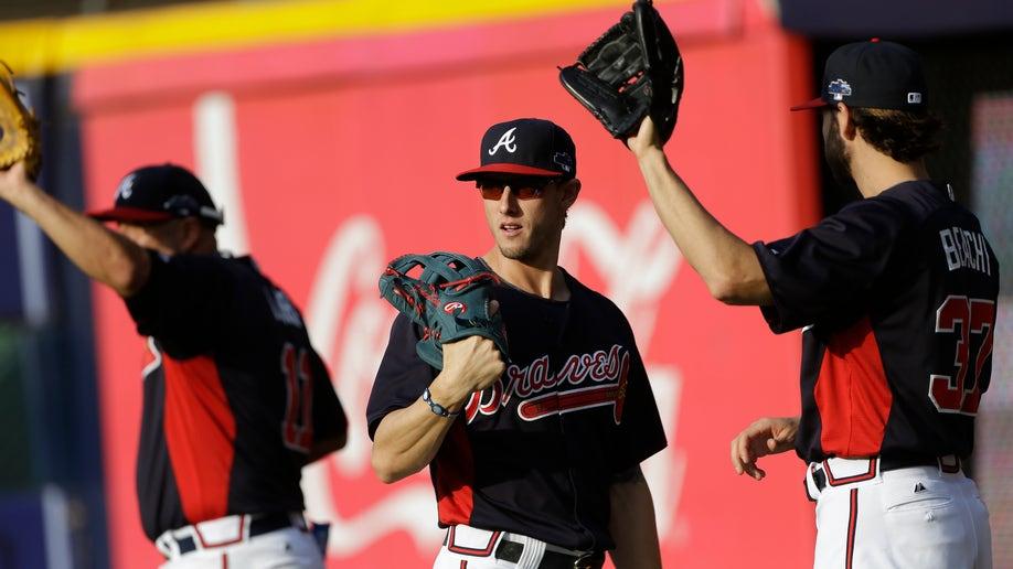 NLDS Dodgers Braves Baseball