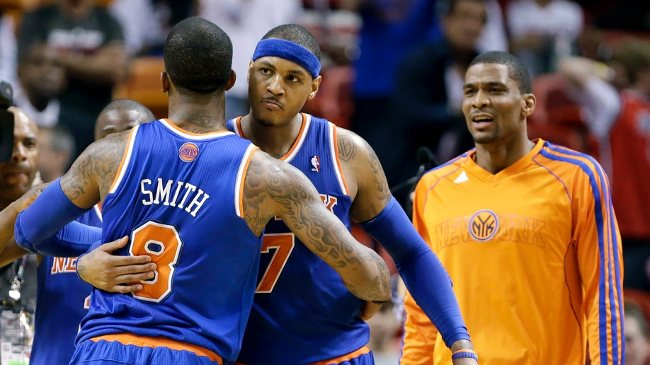 APTOPIX Knicks Heat Basketball