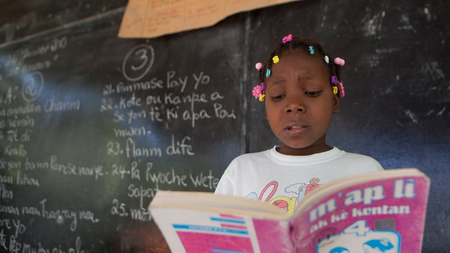 Educators push to bring Haiti's native Creole language to the front