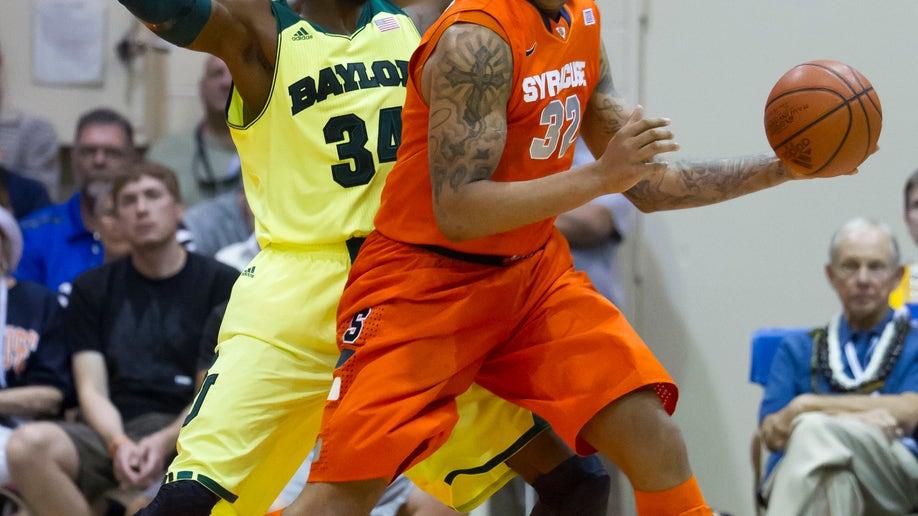 Syracuse Baylor Basketball