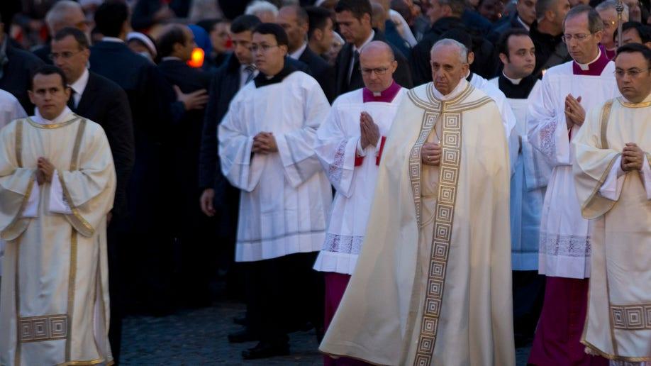 Italy Pope Corpus Christi