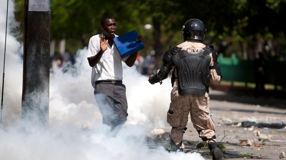 Haiti Lawyer Detained