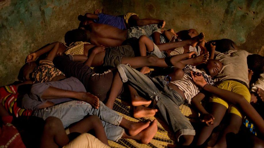 Senegal Child Beggars