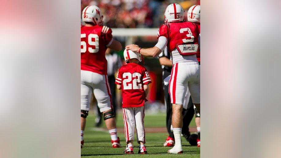 aada9789-Nebraska Spring Game Football
