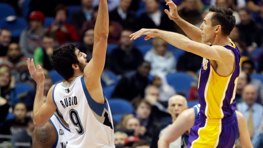 f7c13ab8-Lakers Timberwolves Basketball