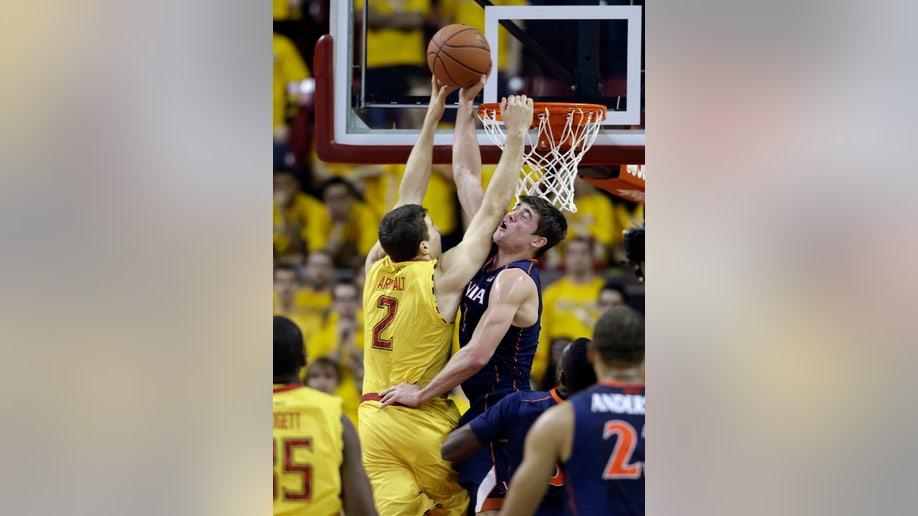 Virginia Maryland Basketball