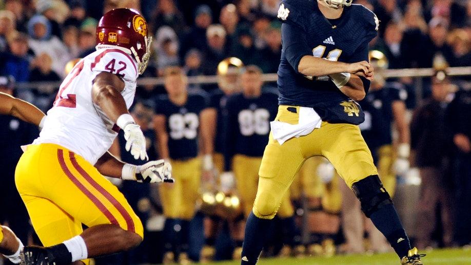 USC Notre Dame Football