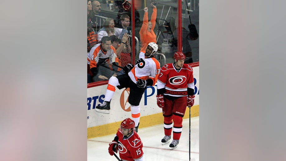 Flyers Hurricanes Hockey