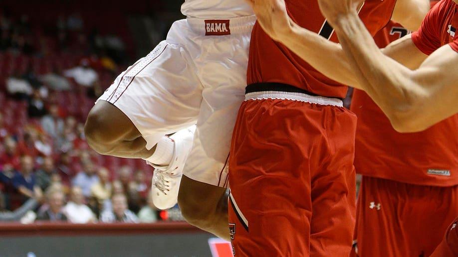 Texas Tech Alabama Basketball