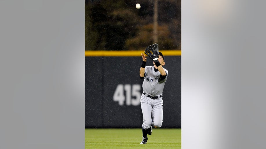 Yankees Rockies Baseball