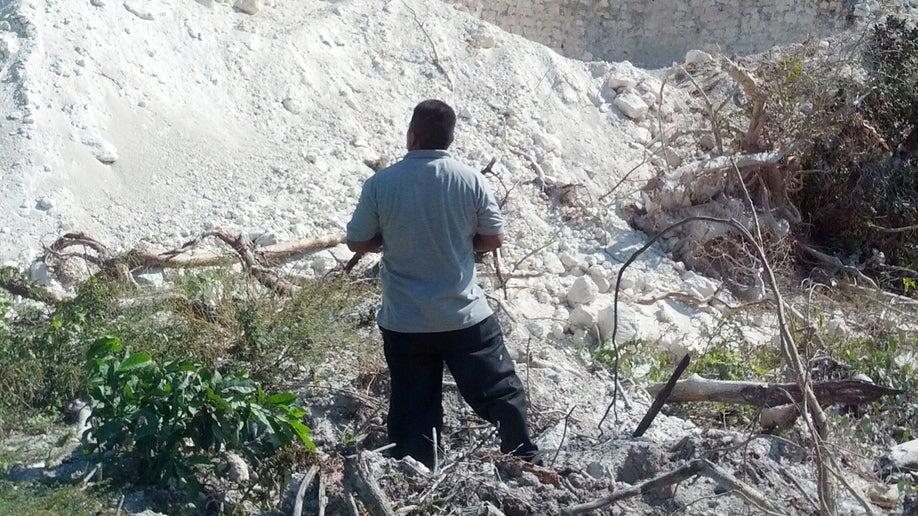 28600cae-Belize Bulldozed Pyramid
