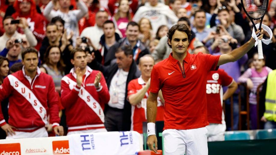 97c6232f-Serbia Switzerland Davis Cup Tennis