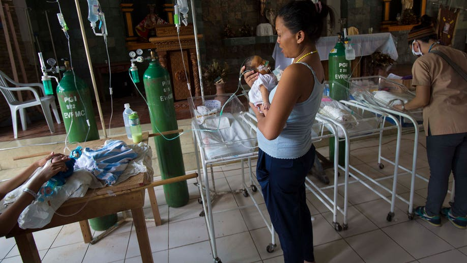 Philippines Storm Babies