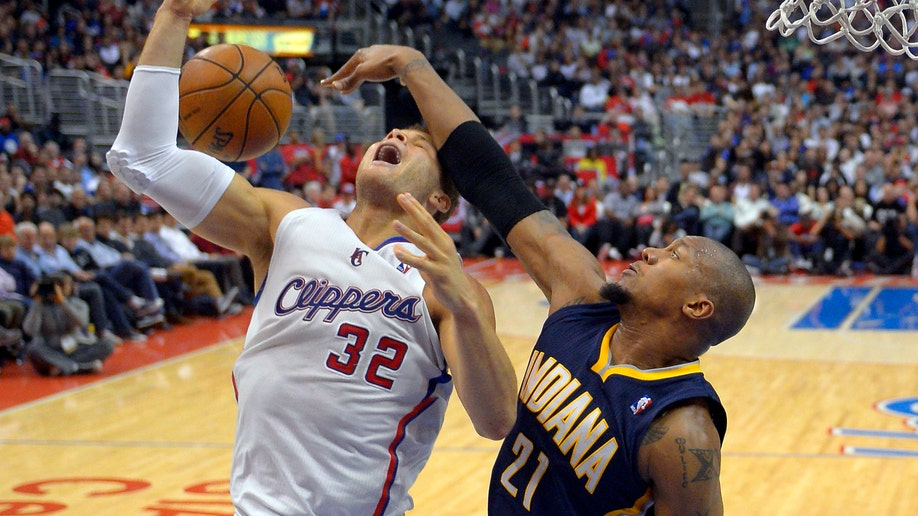 Pacers Clippers Basketball