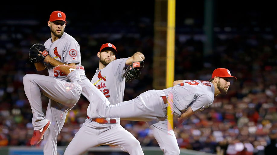 06ecf1da-World Series Cardinals Red Sox Baseball