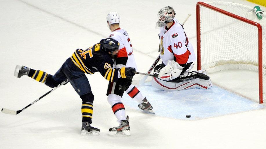 Senators Sabres Hockey