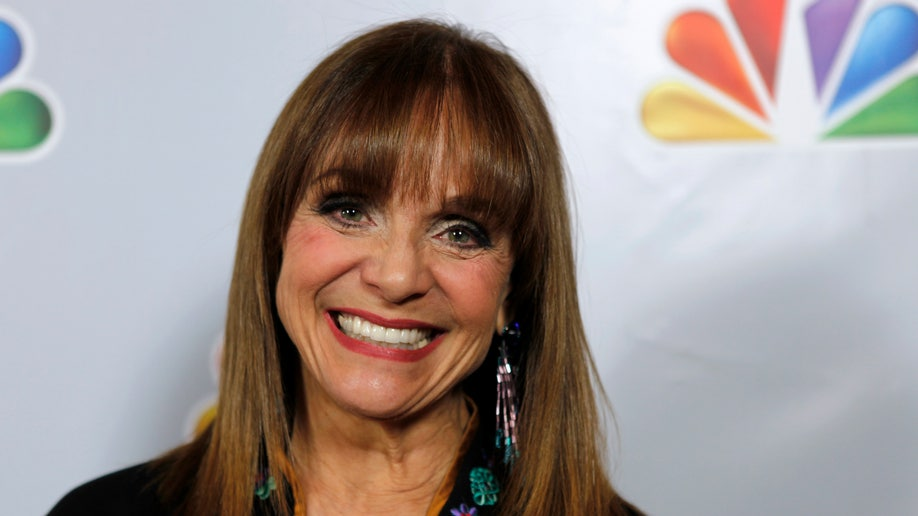 January 8, 2012. Actress Valerie Harper arrives for a tribute to Betty White in Los Angeles.