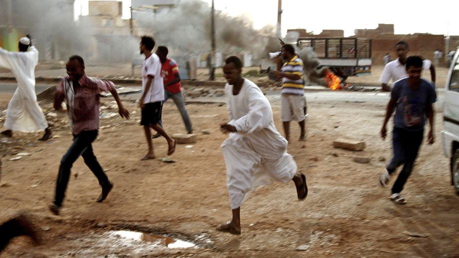 Mideast Sudan Regime Under Stress