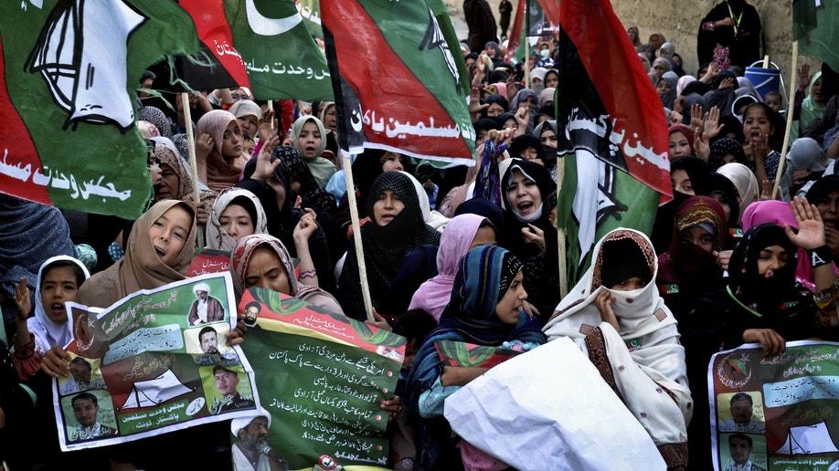 8b757596-APTOPIX Pakistan Separatists VS Democracy