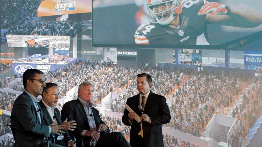 Browns Stadium Upgrade Football