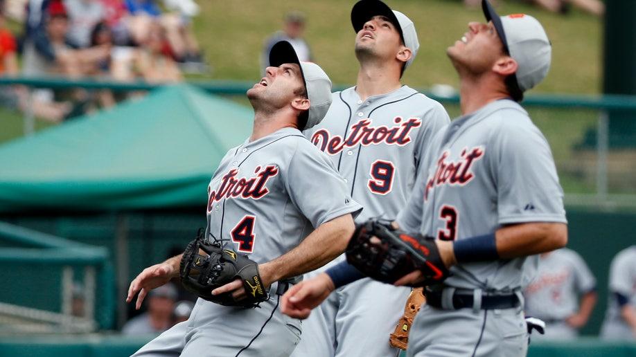 176686b6-Tigers Braves Spring Baseball