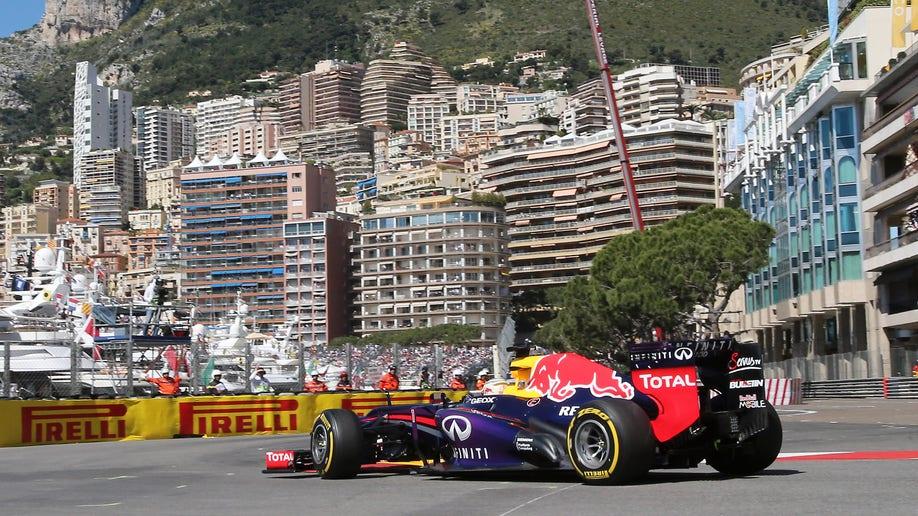 fdbcab22-APTOPIX Monaco F1 GP Auto Racing