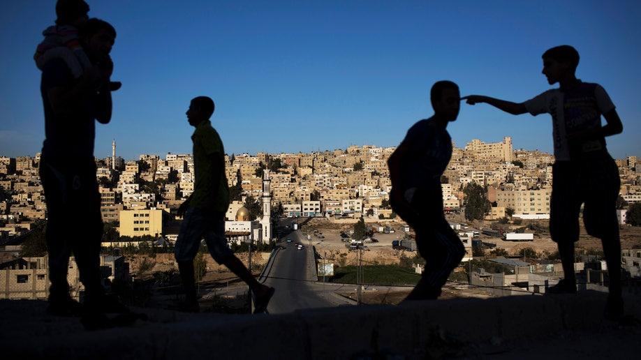 APTOPIX Mideast Syrian Refugees City Life
