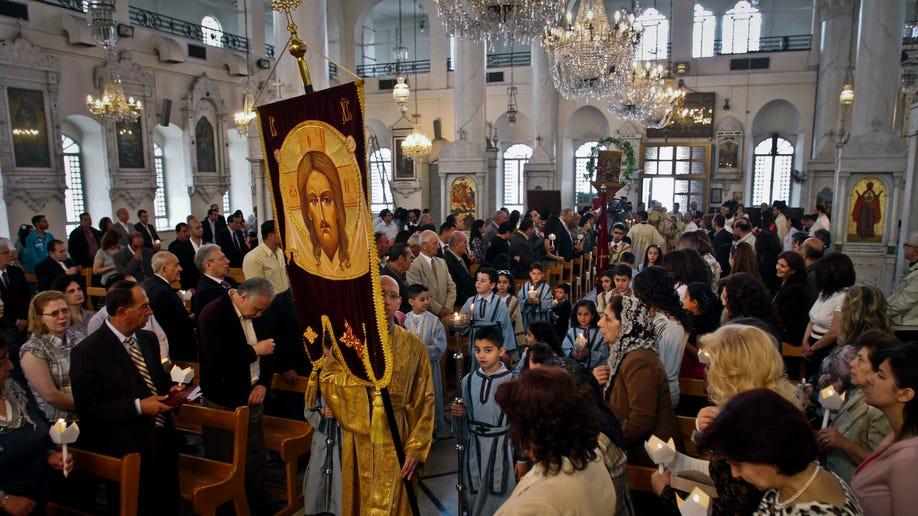Mideast Syria Christan Fears