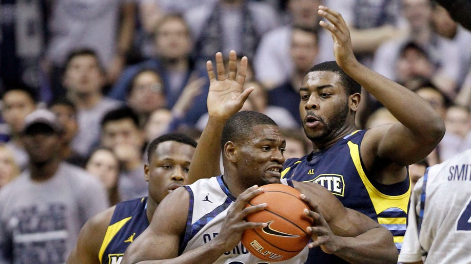 Marquette Georgetown Basketball