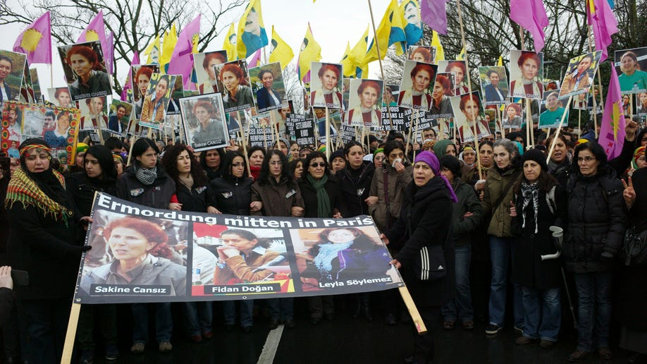 France Kurdish Killings