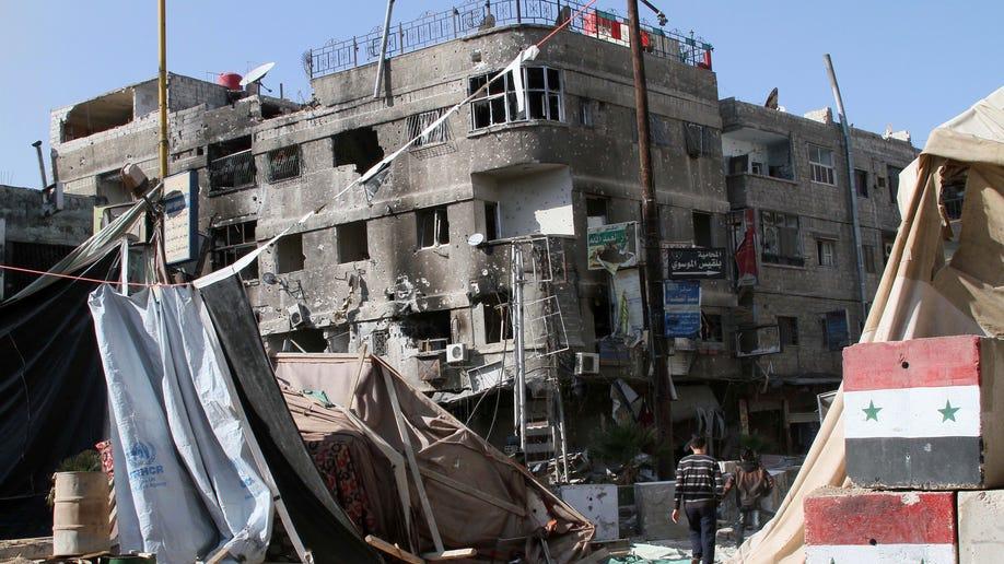 Mideast Syria Tides of War