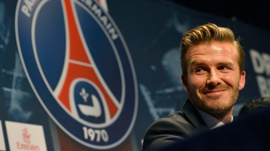 France Beckham PSG