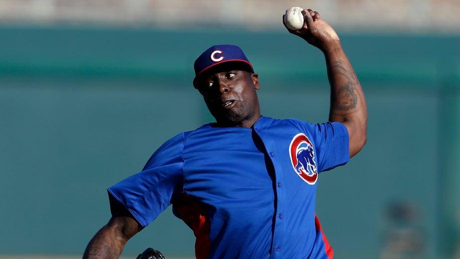 Cubs Dodgers Spring Baseball