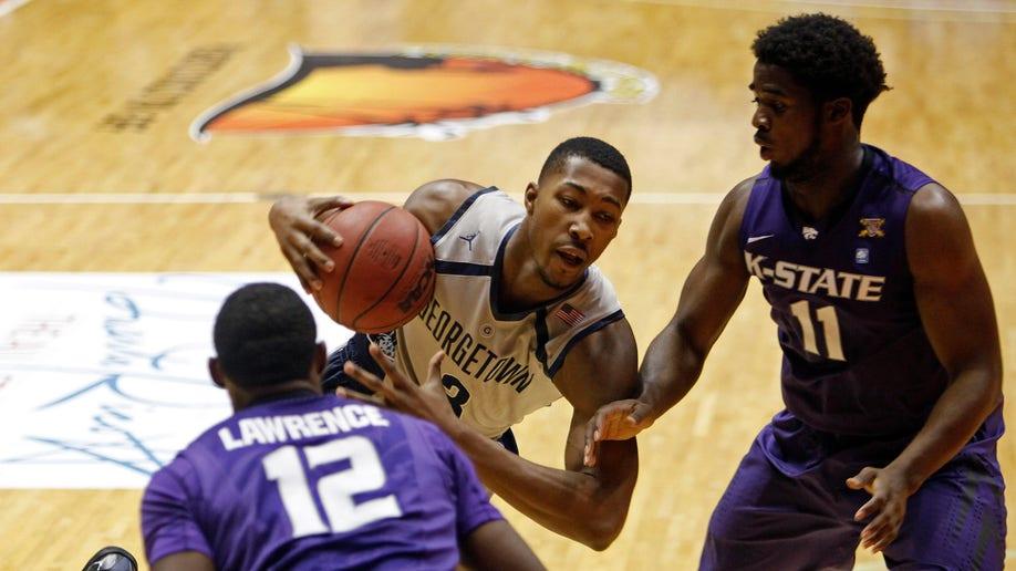 Puerto Rico Georgetown Kansas State Basketball