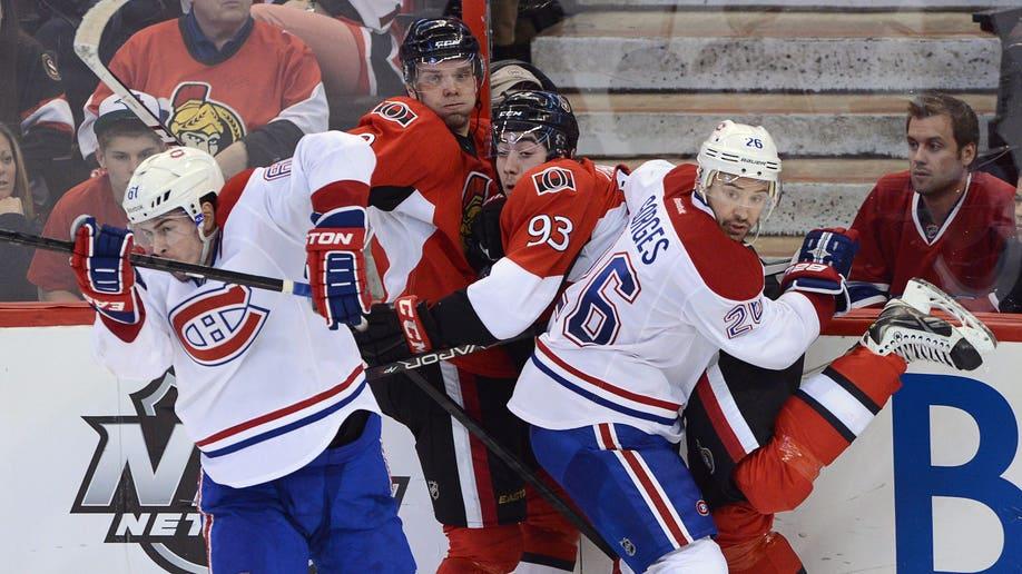 f1770697-Canadiens Senators Hockey