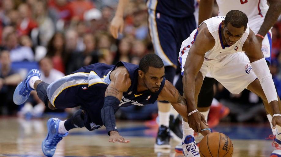 4fce8c86-APTOPIX Grizzlies Clippers Basketball