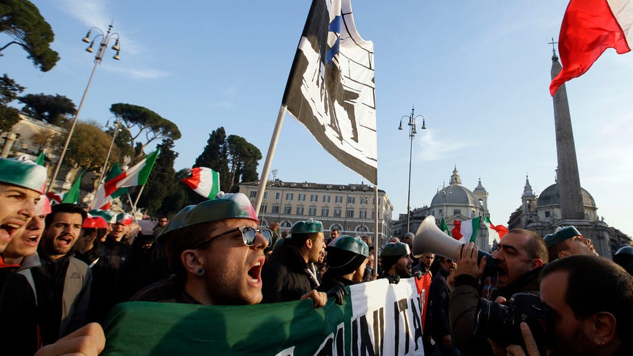 Italy Pitchfork Protests