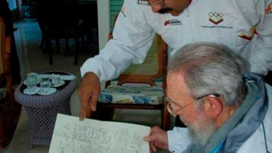 db6746d1-Cuba Fidel Castro Maduro
