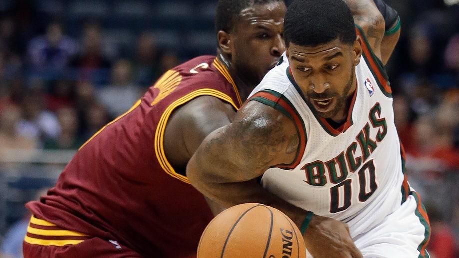 APTOPIX Cavaliers Bucks Basketball