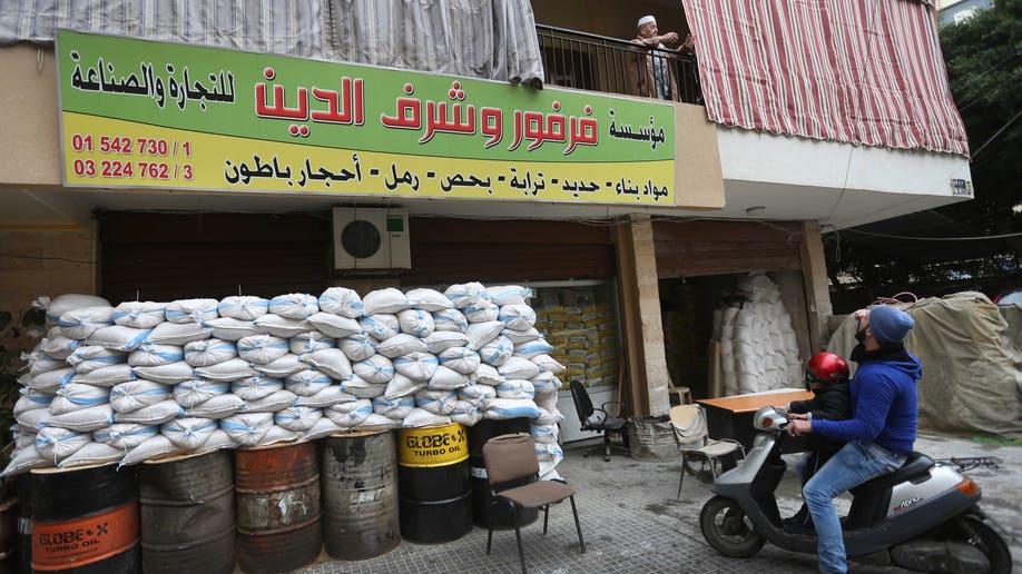 Mideast Lebanon Suburb On Alert