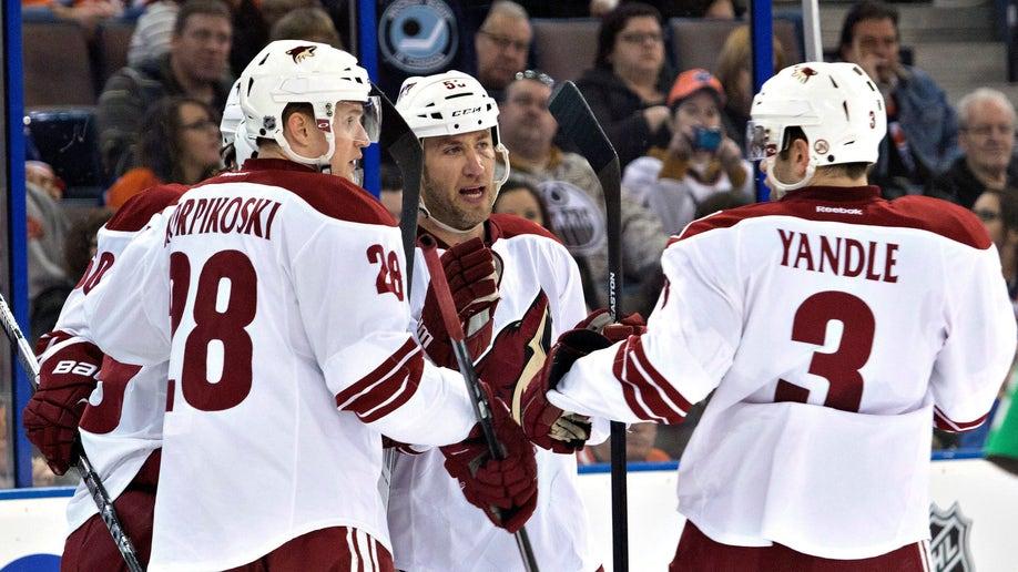 Coyotes Oilers Hockey
