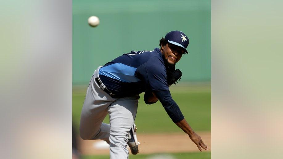 97349371-Rays Red Sox Spring Baseball